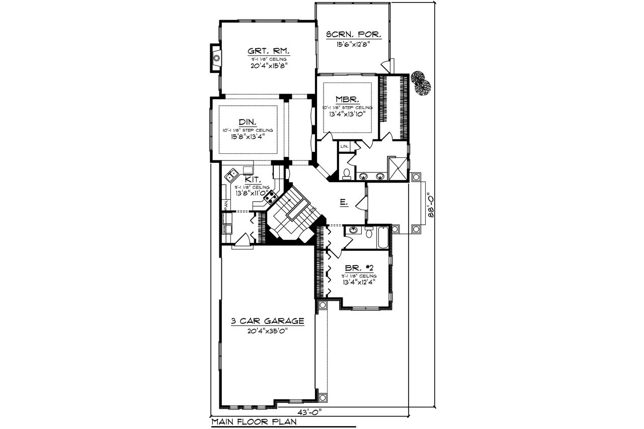 42556 | The House Plan Company on
