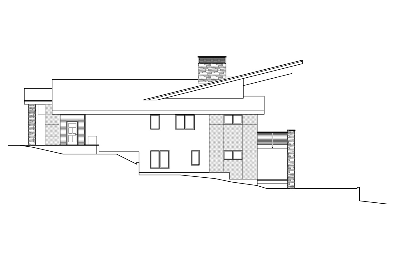 Carbondale 47582 the house plan company for Modern farmhouse plans with basement