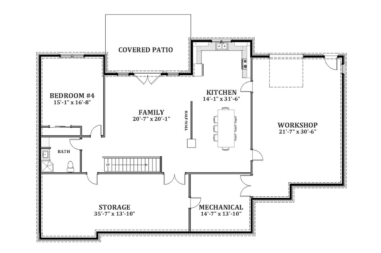 Green Haven 68436 The House Plan Company