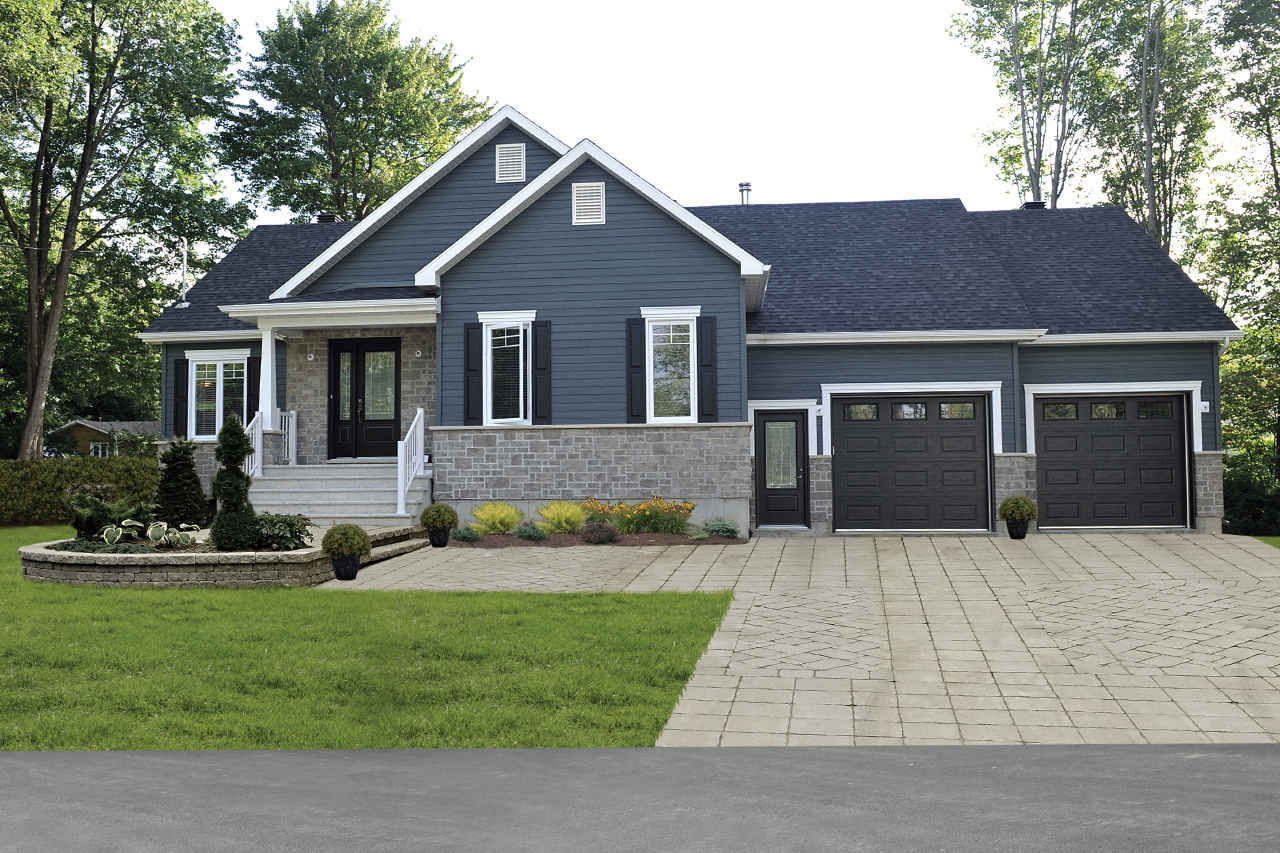 2 Bedroom One Story Craftsman Style House Plan
