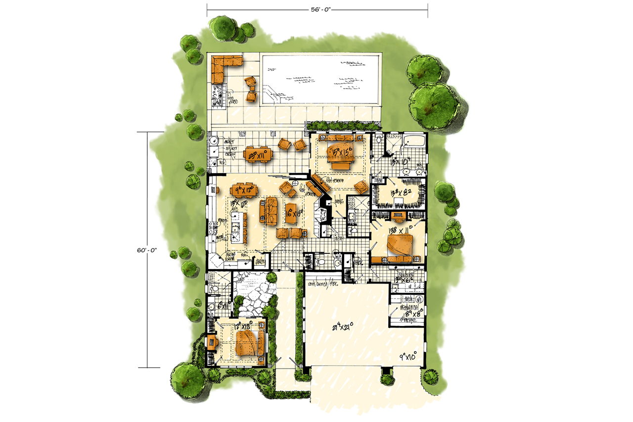 Mariposa # 98172   The House Plan Company on single level contemporary house plans, spanish glass, rock house plans, tropical house plans, australian contemporary house plans, one story contemporary house plans, asian contemporary house plans, japanese contemporary house plans, country house plans, modern contemporary house plans, indian contemporary house plans, south african contemporary house plans, portuguese contemporary house plans,