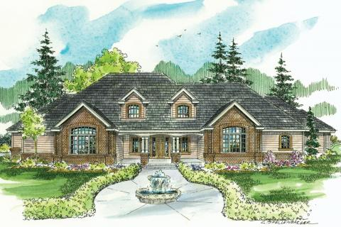 Classic House Plans, Classic Home Plans, Classic Floor Plans