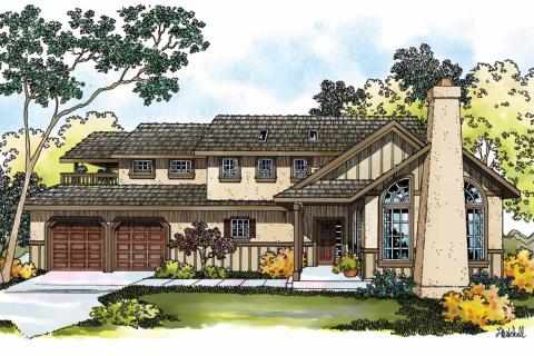 Tudor House Plans, Tudor Home Plans, Tudor Floor Plans