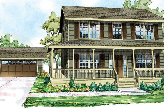 . House Plans with Detached Garage   The House Plan CompanyHouse Plans