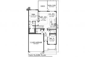 Narrow Lot House Plans - Narrow Lot House Designs - Narrow ... on narrow lakefront house plans, narrow lot floor plans, narrow lot cottage house plans, narrow houses floor plans,