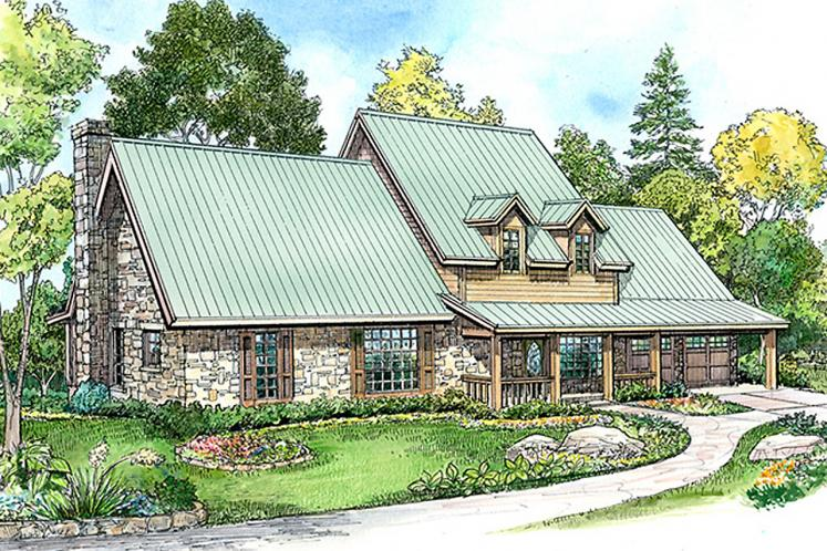 Country House Plan - Lockhart 40364 - Front Exterior