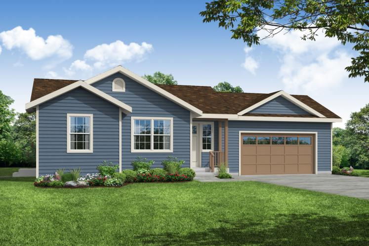 Country House Plan - Culver 20201 - Front Exterior