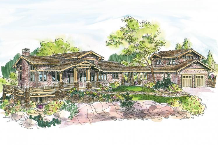 Craftsman House Plan - Meriweather 44643 - Front Exterior