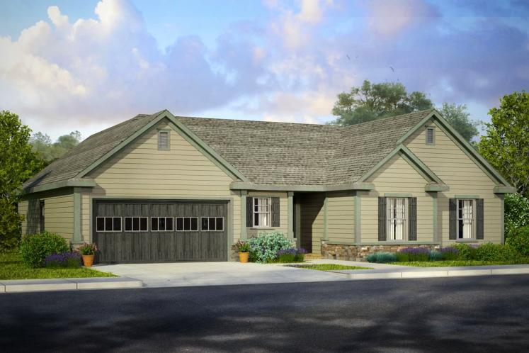 Traditional House Plan - Allenstown 10261 - Front Exterior