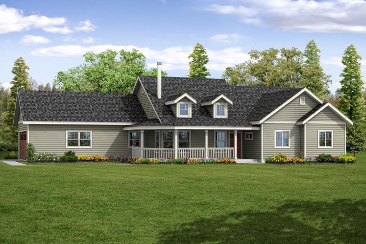 Country House Plan - Hayden 21531 - Front Exterior