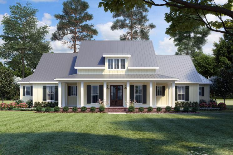 Country House Plan - Rosewood Farmhouse 11228 - Front Exterior