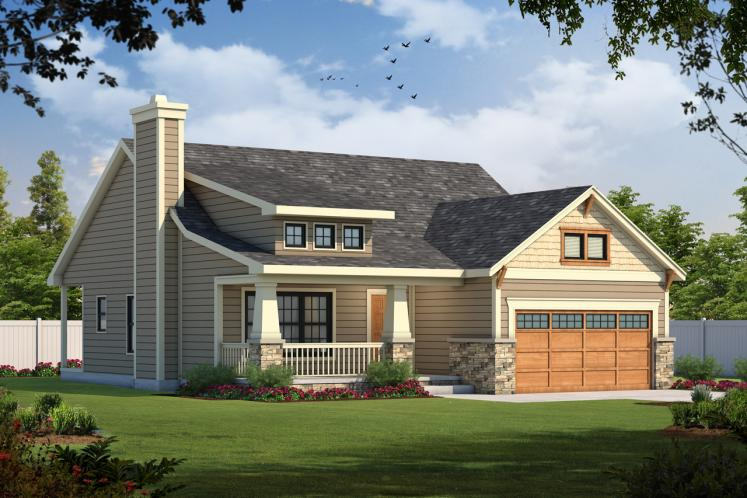 Cottage House Plan - Kendrick 41825 - Front Exterior