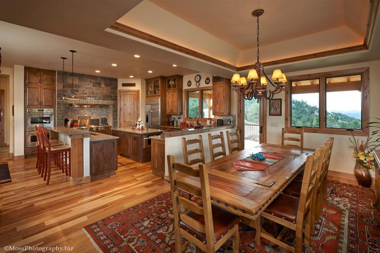 Lodge Style House Plan - Deer Park 24896 - Kitchen
