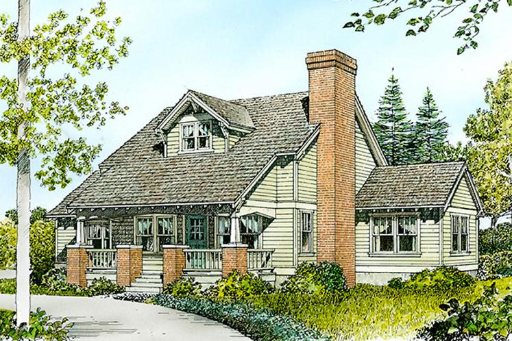 Cottage House Plan - Rollingwood 40299 - Front Exterior