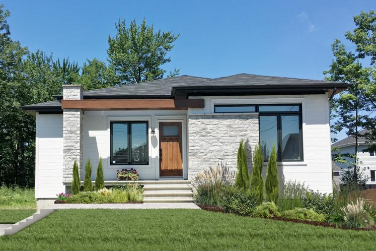 Modern House Plan - Camille 60592 - Front Exterior