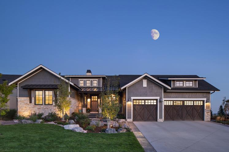 Prairie House Plan - Rivers Bend 23749 - Front Exterior