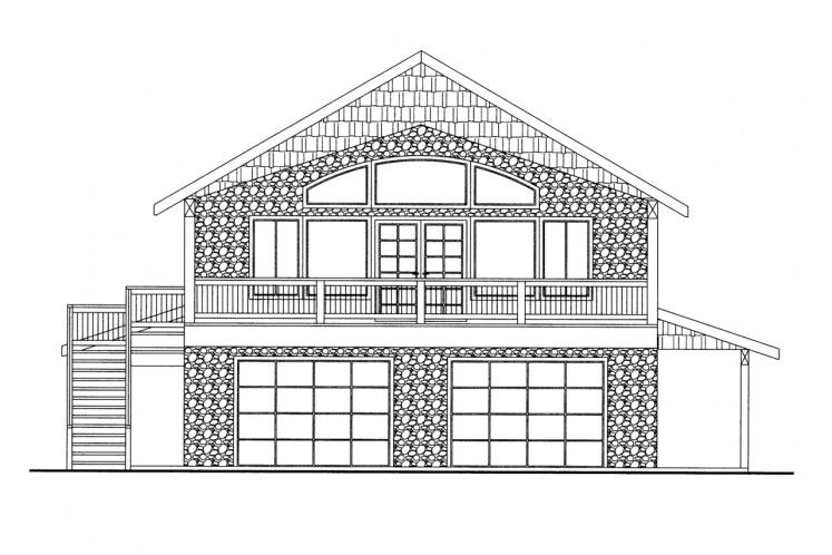 Country House Plan -  10105 - Front Exterior