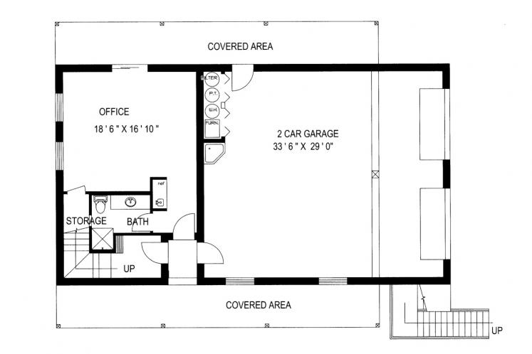Lodge Style House Plan -  10105 - Other Floor Plan