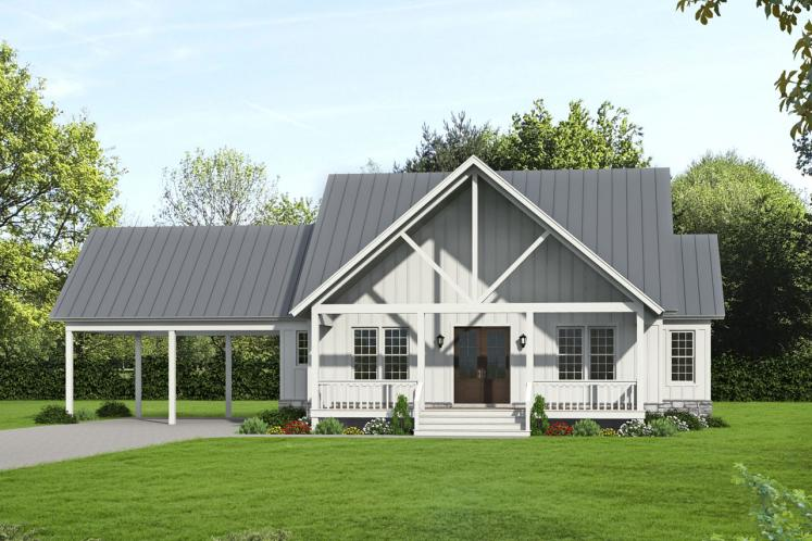 Cottage House Plan - Grand Bay 10134 - Front Exterior