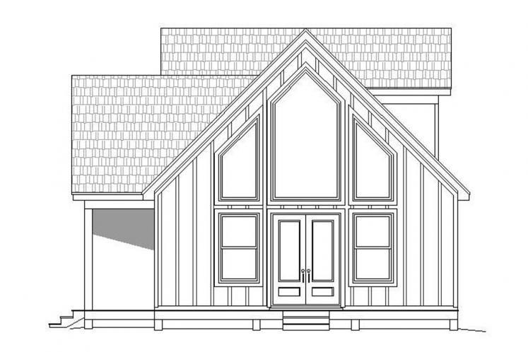 Craftsman House Plan - Holiday Haven 10716 - Right Exterior