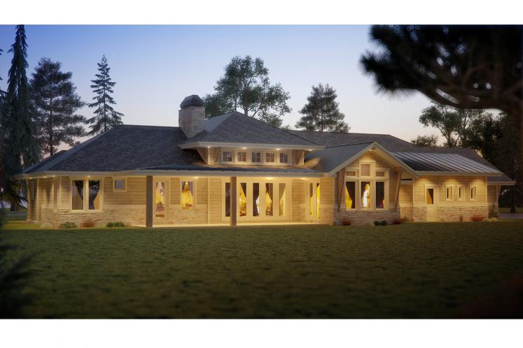 Ranch House Plan - Oyster Point 10827 - Right Exterior