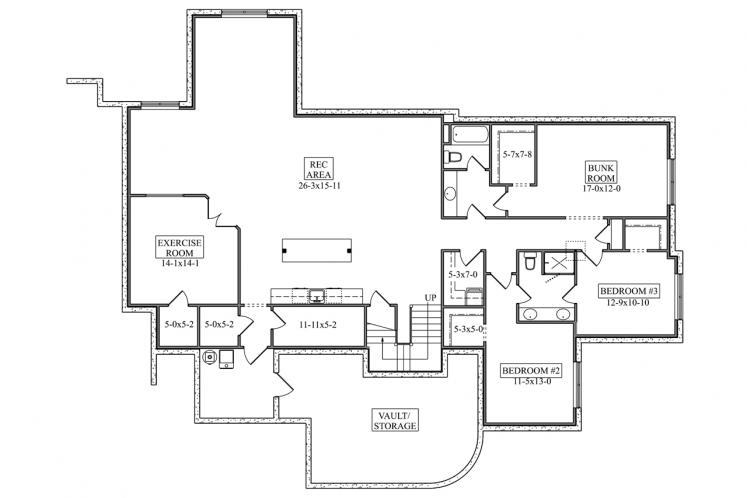 Tuscan House Plan - Oyster Point 10827 - 2nd Floor Plan