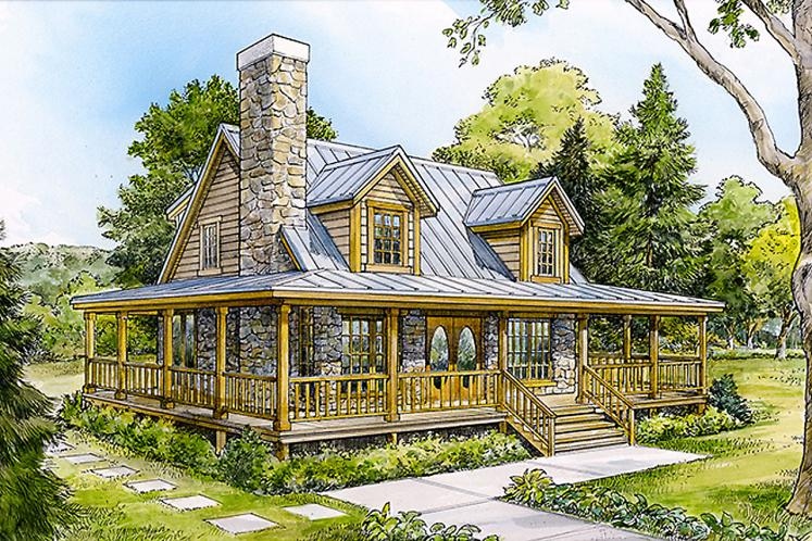 Cottage House Plan - Lampasas 10946 - Front Exterior