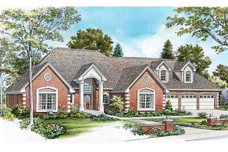 Traditional House Plan - Coleman 11355 - Front Exterior