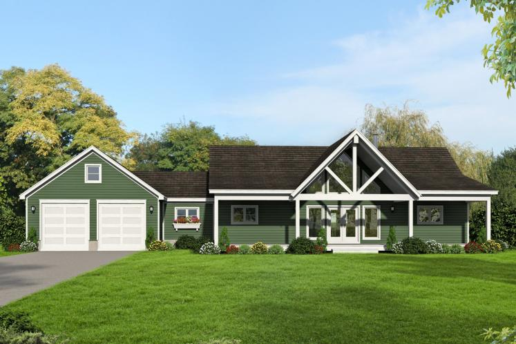 Craftsman House Plan - Greers Ferry 11471 - Front Exterior