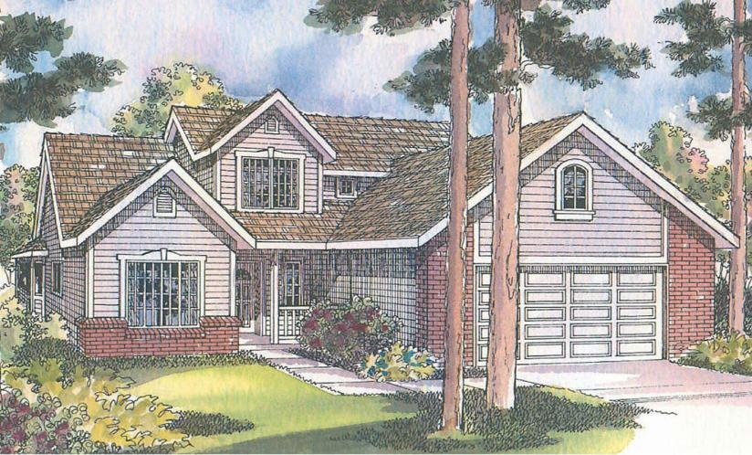 Traditional House Plan - Jasper 11735 - Front Exterior