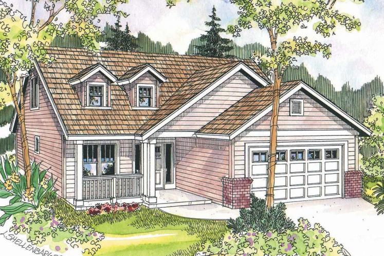 Country House Plan - Chatham 11850 - Front Exterior