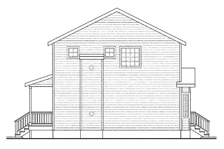 Country House Plan - Pine Hill 12074 - Right Exterior