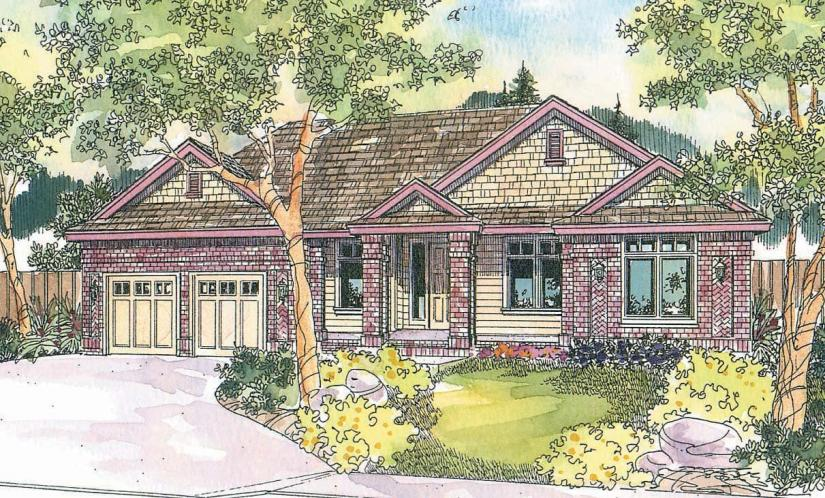 Contemporary House Plan - Stansbury 12238 - Front Exterior
