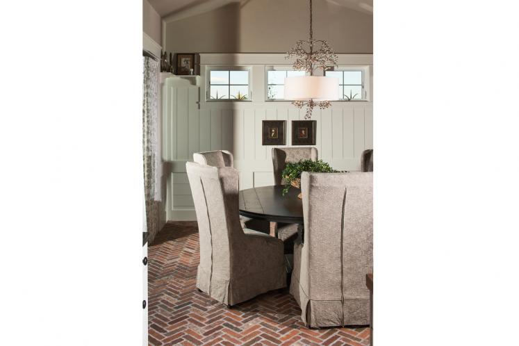 European House Plan - Dorchester 12313 - Dining Room