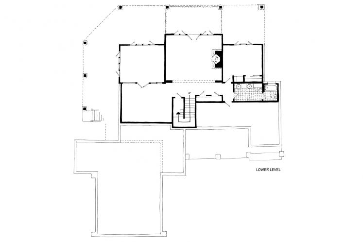 Farmhouse House Plan - Heartland 13048 - Basement Floor Plan
