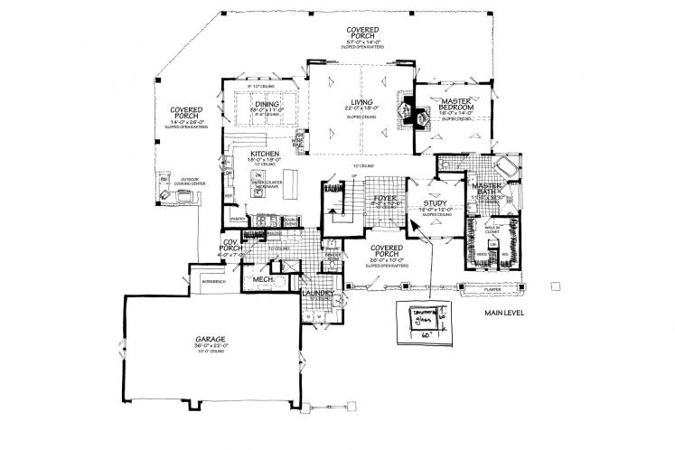 Traditional House Plan - Heartland 13048 - Optional Floor Plan