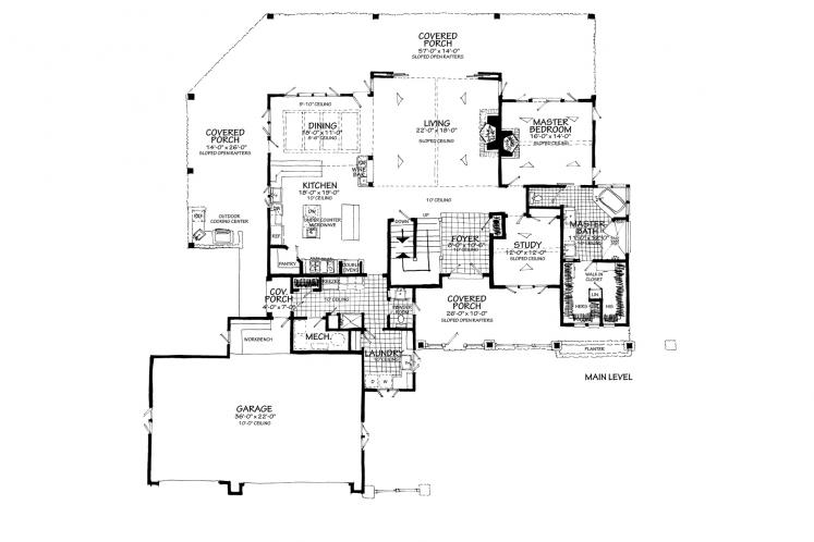 Farmhouse House Plan - Heartland 13048 - Optional Floor Plan