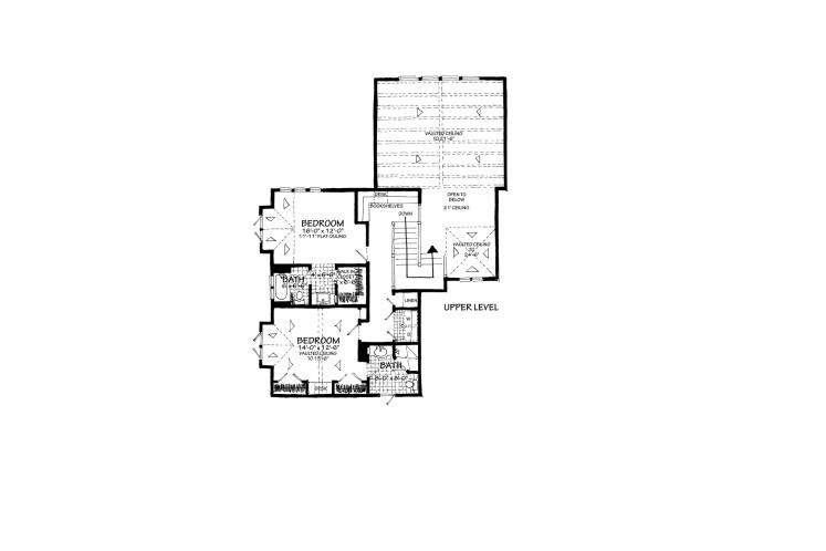 Traditional House Plan - Heartland 13048 - 2nd Floor Plan