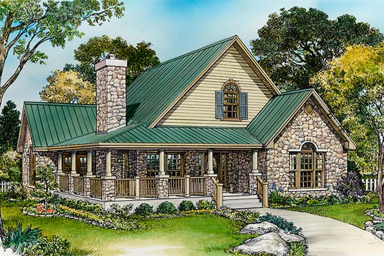 Cottage House Plan - Sebring 13547 - Front Exterior