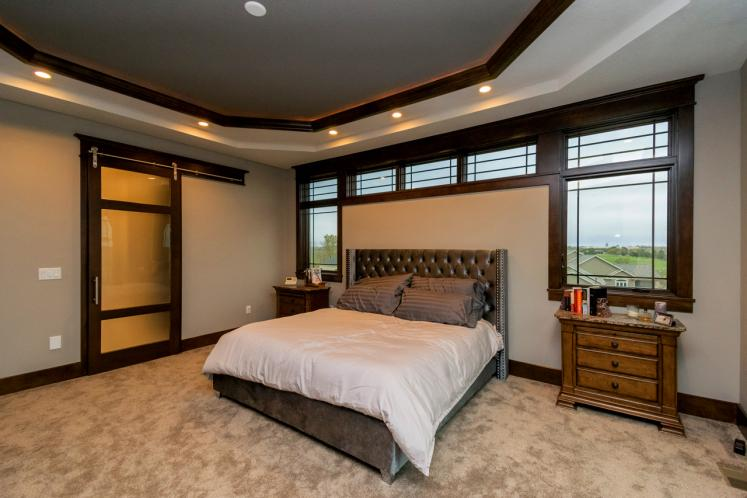 Prairie House Plan -  13616 - Master Bedroom
