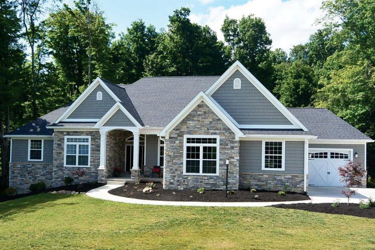 Country House Plan - Zinnia 14063 - Front Exterior