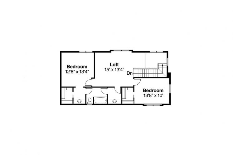Southwest House Plan - Rimrock 14135 - 2nd Floor Plan