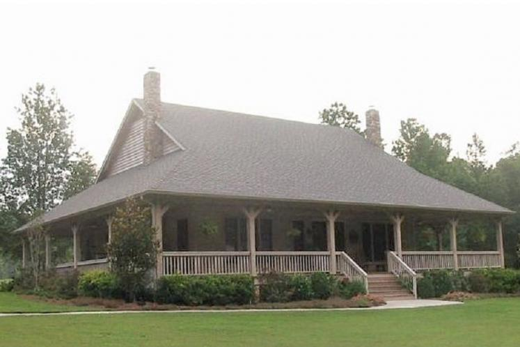 Farmhouse House Plan -  14175 - Front Exterior