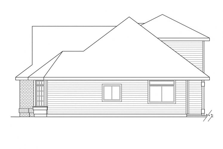Country House Plan - Albany 14277 - Right Exterior