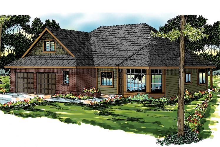Country House Plan - Albany 14277 - Front Exterior
