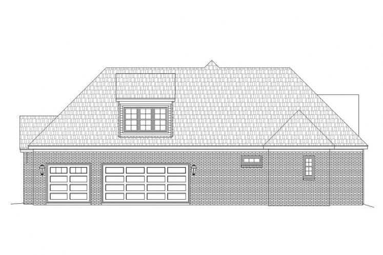 Craftsman House Plan - Evensville Escape 14345 - Right Exterior