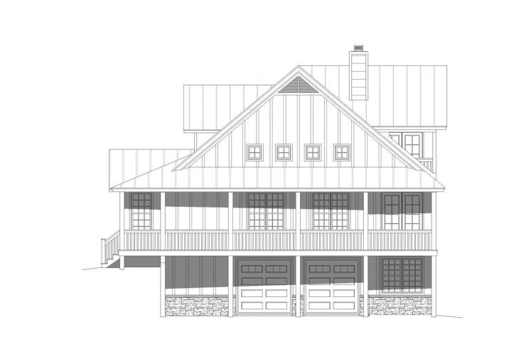 Country House Plan - Flowery Branch 14349