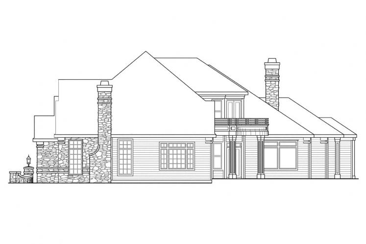 European House Plan - Macleod 14467 - Right Exterior