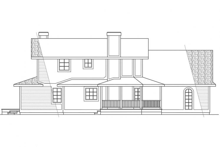 Victorian House Plan - Freemont 14688 - Left Exterior