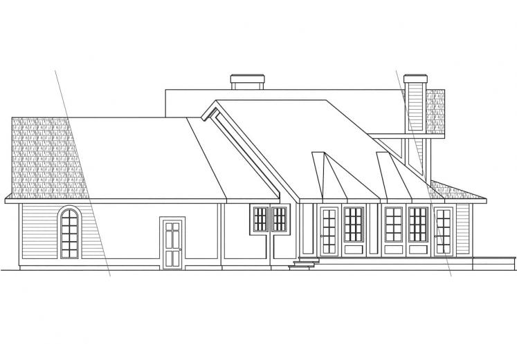 Country House Plan - Freemont 14688 - Right Exterior